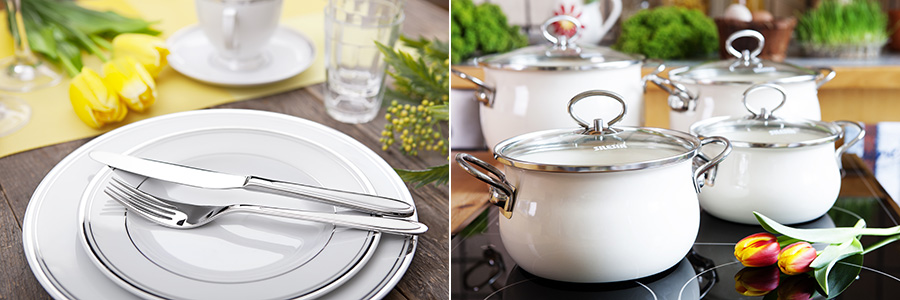 Wyposażenie kuchni i stołu