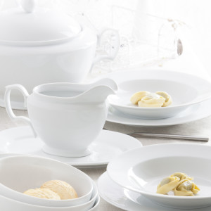 MariaPaula Biala - zestaw obiadowy