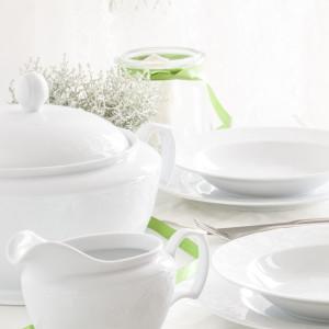 MariaPaula dek. Romantyczna Koronka - zestaw obiadowy