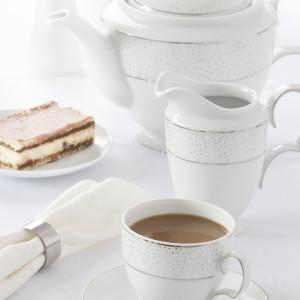 MariaPaula dek. Snow - zestaw kawowy