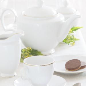 MariaPaula dek. Złota Linia - zestaw kawowy