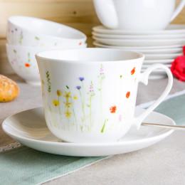 Duża filiżanka do kawy i herbaty ze spodkiem 420 ml, MAKI