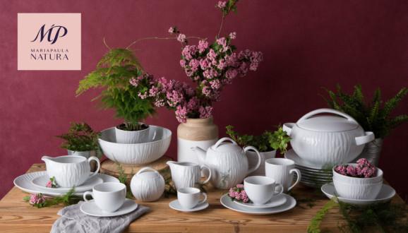 Kolekcja Polskiej Porcelany MariaPaula Natura