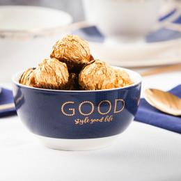 Salaterka porcelanowa Good Life granatowa 13 cm