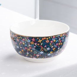 Salaterka porcelanowa w kwiaty 13 cm, MAGIC GARDEN