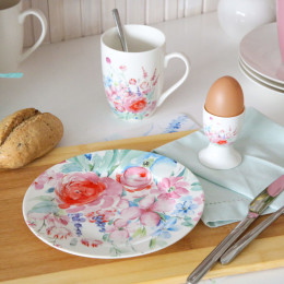 Zestaw śniadaniowy PASTELOWY KWIAT