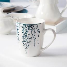 Kubek porcelanowy baryłka Altom Design Konfetti 340 ml wzór A