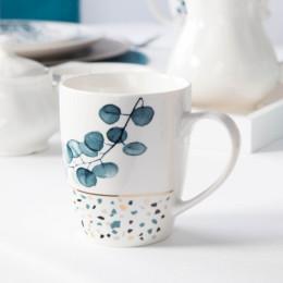 Kubek porcelanowy baryłka Altom Design Konfetti 340 ml wzór B