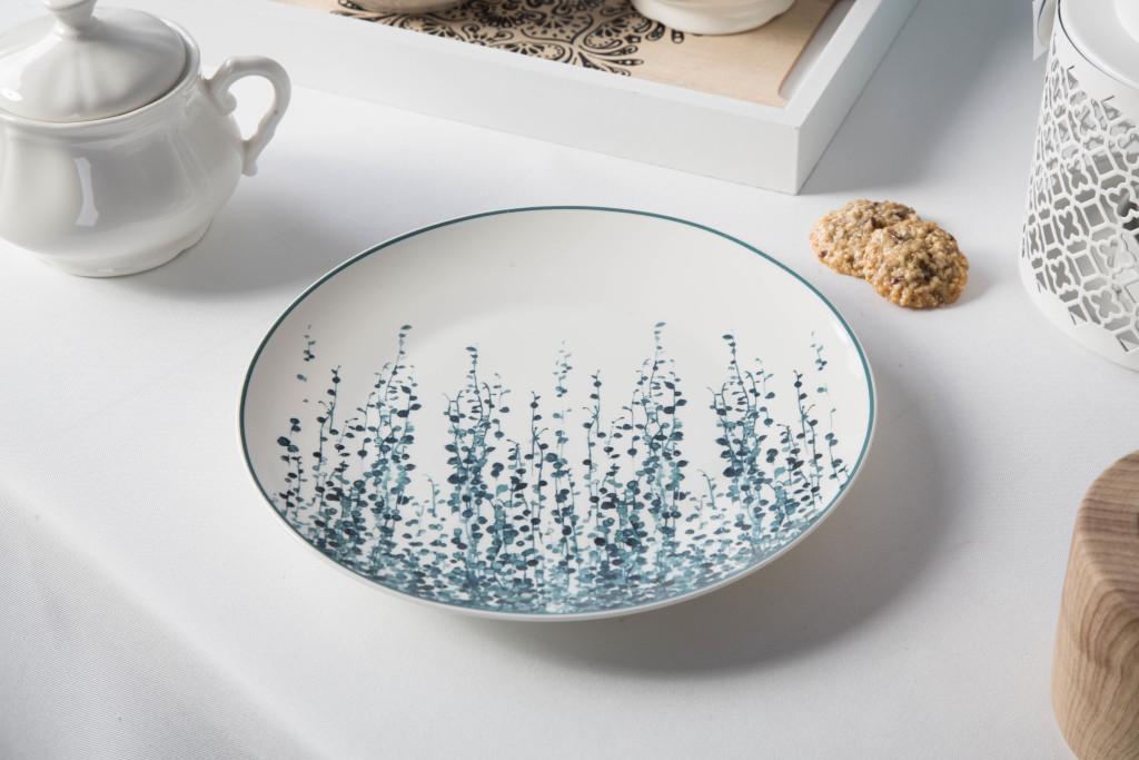Talerz deserowy porcelanowy Altom Design Konfetti 20 cm