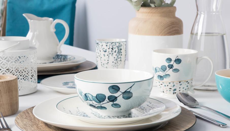Zestaw porcelany śniadaniowej od Altom Design Konfetti