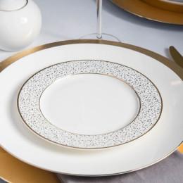 Talerz deserowy porcelanowy Altom Design Granit 20 cm