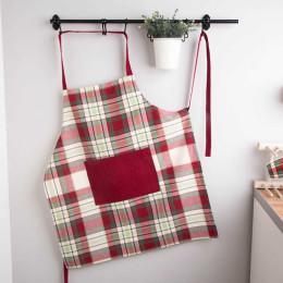 Fartuch kuchenny 100% bawełna Altom Design Victoria Red