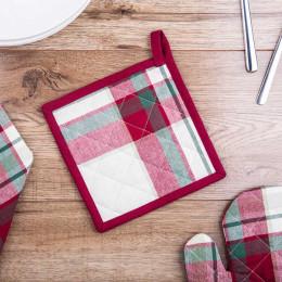 Łapka kuchenna 100% bawełna Altom Design Victoria Red 18×18 cm