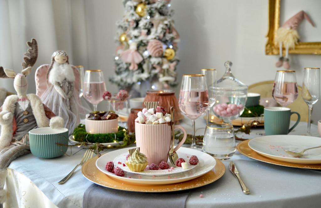 Pastelowa porcelana, pudrowe święta od Altom Design