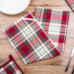 Ręcznik ściereczka kuchenna 100% bawełna Altom Design Victoria Red 50×70 cm