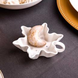 Salaterka/dipówka porcelana święta Boże Narodzenie Altom Design Ballerina Winter płatek śniegu 12 cm