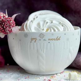 Salaterka/miseczka porcelanowa święta Boże Narodzenie Altom Design Ballerina Winter 14 cm
