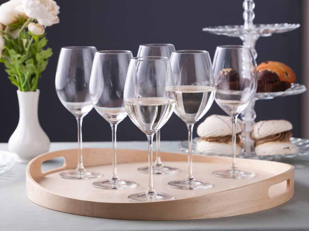 Kieliszki do wina białego Altom Design Brylant Lux 410 ml komplet 6 sztuk