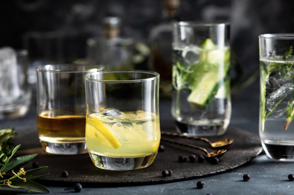 Szklanki Freya idealnie sprawdzą się do zimnych napojów oraz do serwowania drinków