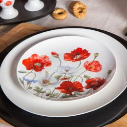 talerz deserowy porcelanowy Altom Design maki 20 cm