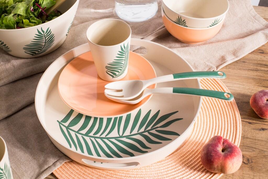 naczynia bambusowe