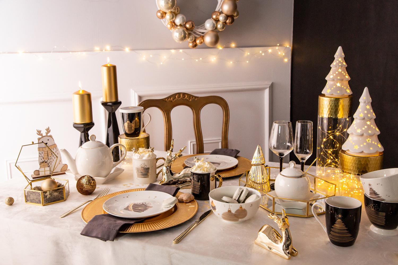 Kolekcja świąteczna Golden Christmas marki Altom Design
